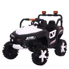 Детский электромобиль джип T-7844 EVA WHITE 4-моторный