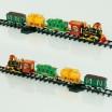 Железная дорога на пульте управления 2420