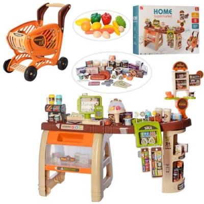Игровой набор Магазин Супермаркет с тележкой 668-68