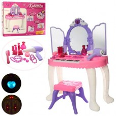 Детское трюмо для девочки YL80015 с пианино