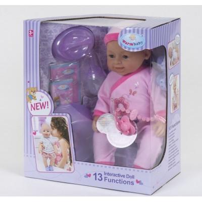 Кукла пупс функциональный 030-528