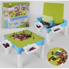 Детский игровой стол с конструктором 370