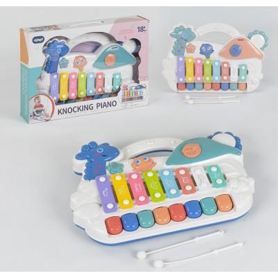 Детское пианино с ксилофоном 668-51