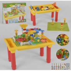 Детский игровой стол с конструктором 880