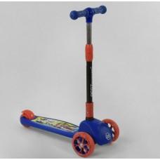 Детский трехколесный самокат Best Scooter 27043 , свет колёс и дисков