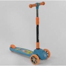 Детский трехколесный самокат Best Scooter 45567 , свет колёс и дисков