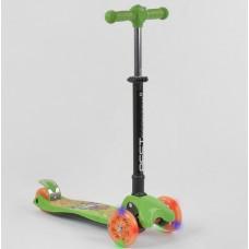 Детский трехколесный самокат Best Scooter 92324  с фарой