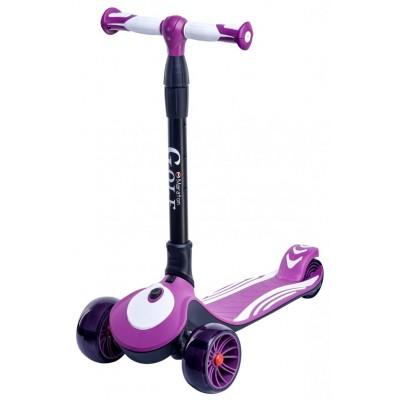 Детский трехколесный самокат Maraton Golf Фиолетовый