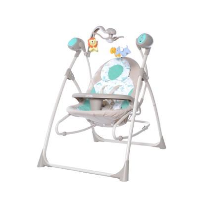 Детская колыбель-качели 3 в 1 BT-SC-0005 Azure Beige