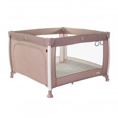 Детский манеж CARRELLO Cubo CRL-11602/1 Flamingo Pink