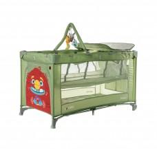 Детский манеж CARRELLO Molto CRL-11604 Cameo Green со вторым дном