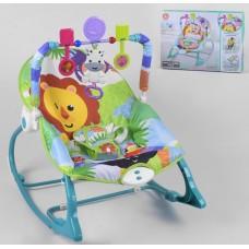 Детский шезлонг-качалка 898-934