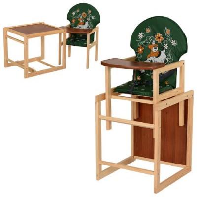 Стульчик для кормления деревянный M V-010-22-6