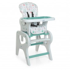 Детский стульчик для кормления M 0816 Flowers Mint