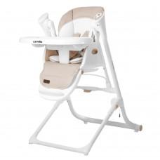 Детский стульчик-качели для кормления 3в1 CARRELLO Triumph CRL-10302 Beige