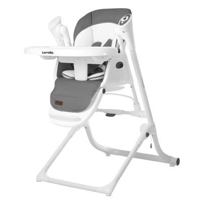 Детский стульчик-качели для кормления 3в1 CARRELLO Triumph CRL-10302 Palette Grey