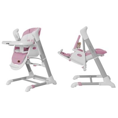 Детский стульчик-качели для кормления 3в1 CARRELLO Cascata CRL-10303 Lavender Pink