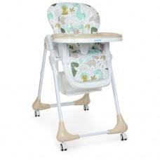 Детский стульчик для кормления M 3233 Dino Beige