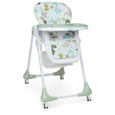 Детский стульчик для кормления M 3233 Dino Pine Green
