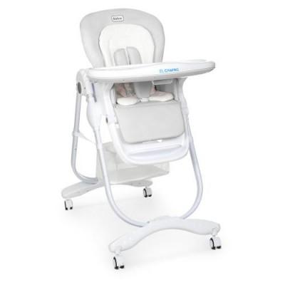 Детский стульчик для кормления Dolce M 3236 Light Grey
