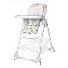 Детский стульчик для кормления TILLY Bistro T-641/2 Grey (водонепроницаемая ткань)