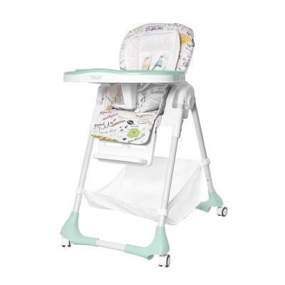 Детский стульчик для кормления TILLY Bistro T-641/2 Menthol (водонепроницаемая ткань)