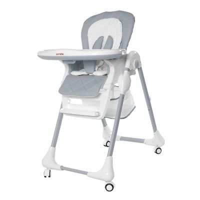 Детский стульчик для кормления CARRELLO Toffee CRL-9502/3 Cloud Grey