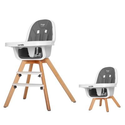 Детский стульчик для кормления CARRELLO Prego CRL-9504/1 Palette Grey