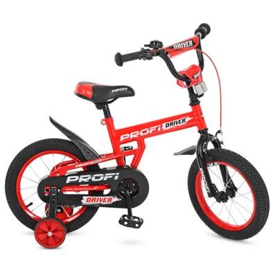 Детский двухколесный велосипед PROFI L14112 Driver 14 дюймов