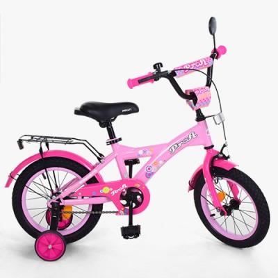 Детский двухколесный велосипед PROF1 Original Girl T1461 14 дюймов