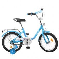 Детский двухколесный велосипед L1684 Profi Flower 16 дюймов