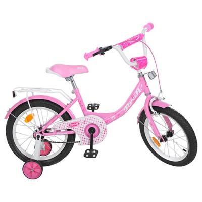 Детский двухколесный велосипед Y1611 Profi Princess 16 дюймов