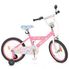 Детский двухколесный велосипед PROFI L18131 Butterfly 18 дюймов