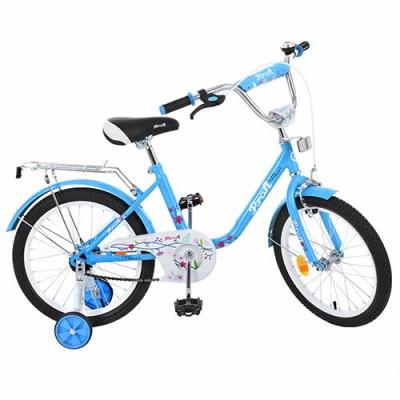 Детский двухколесный велосипед L1884 Profi Flower 18 дюймов