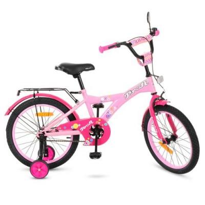Детский двухколесный велосипед T1861 Profi Original Girl 18 дюймов
