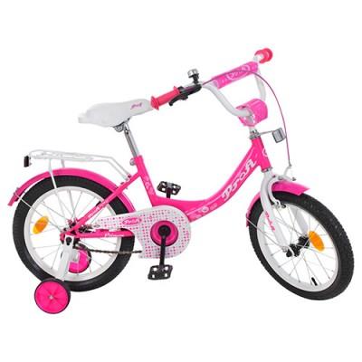 Детский двухколесный велосипед Y1613-1 Profi Princess 16 дюймов