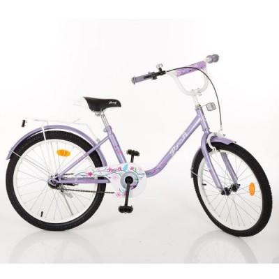 Детский двухколесный велосипед Y2083 Profi Flower 20 дюймов