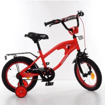 Детский двухколесный велосипед Y14181 Profi Traveller 14 дюймов