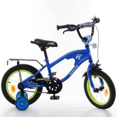 Детский двухколесный велосипед Y14182 Profi Traveller 14 дюймов