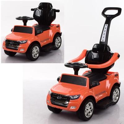 Детский электромобиль толокар 2в1 M 3575EL-7