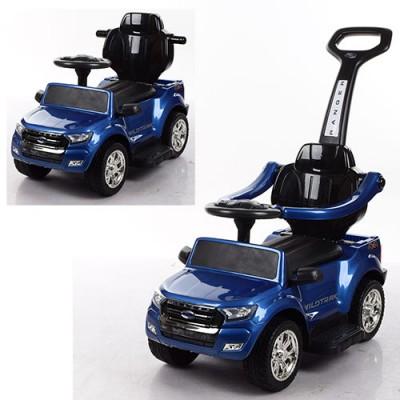 Детский электромобиль толокар 2в1 M 3575ELS-4 автопокраска