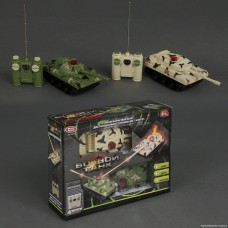 Танковый бой на радиоуправлении 9672