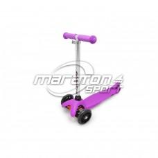 Детский трёхколёсный самокат Maraton 95 ФИОЛЕТОВЫЙ