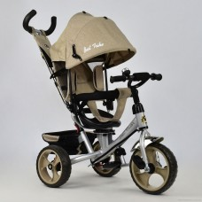 Детский трехколесный велосипед 5700 - 3540 БЕЖЕВЫЙ ЛЁН