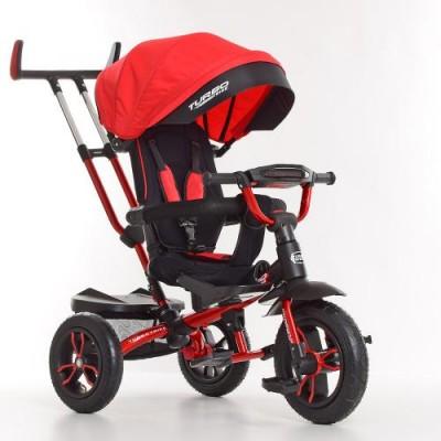 Детский трехколесный велосипед M 4058-1 Turbo Trike с поворотным сидением КРАСНЫЙ