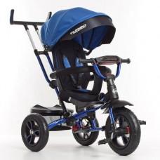 Детский трехколесный велосипед M 4058-10 Turbo Trike с поворотным сидением СИНИЙ