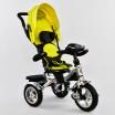 Детский трехколесный велосипед Best Trike 5890-7019 с поворотным сидением + пульт ЖЁЛТЫЙ