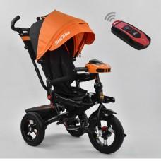 Детский трехколесный велосипед 6088 F - 3020 Best Trike поворотное сидение + пульт ОРАНЖЕВЫЙ