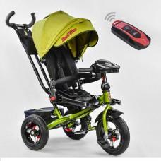 Детский трехколесный велосипед 6088 F - 3110 Best Trike поворотное сидение + пульт ХАКИ
