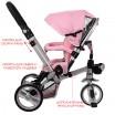 Детский трехколесный велосипед Turbo Trike M AL3645-10 EVA складной РОЗОВЫЙ